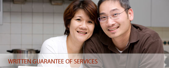 Corpred provides a written guarantee of service for our tax depreciation schedules